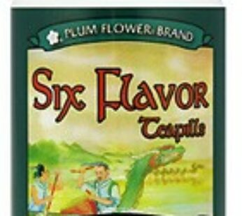 Six Flavor Teapills-Liu Wei Di Huang Wan