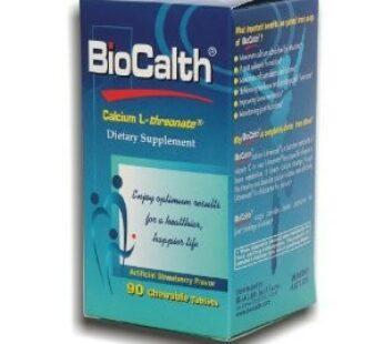 BioCalth Calcium L-threonate Calcium – 90 Chewable Tablets