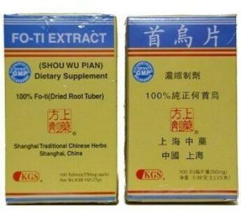 Fo-Ti Extract (Shou Wu Pian)