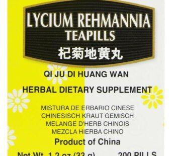 Qi Ju Di Huang Wan – Lycium Rehmannia Teapills