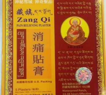 Zang Qi Pain Relieving Plaster – box of 5