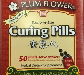 Curing Pills – 50 single-serve packets