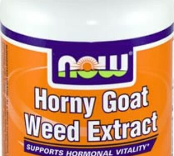 Horny Goat Weed Extract – Now Foods
