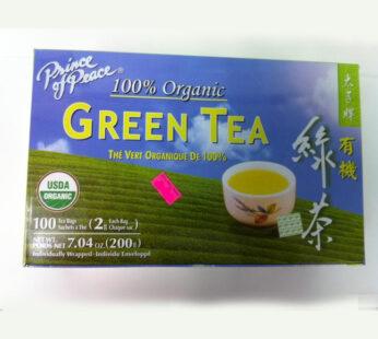 Organic Green Tea – Prince of Peace Brand