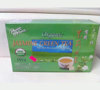 Organic Jasmine Green Tea – Prince of Peace Brand