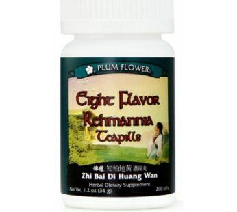 Eight Flavor Rehmannia Teapills – Zhi Bai Di Huang Wan